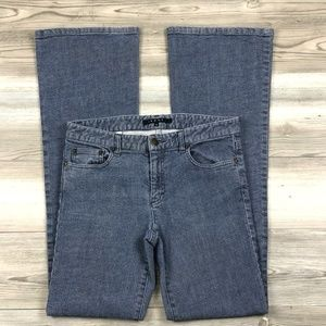 Theory light wash boot cut jeans size 6